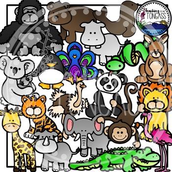 Zoo Clipart Bundle