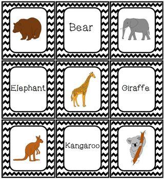 Zoo Animal Game Set Bingo Memory Dominoes Match