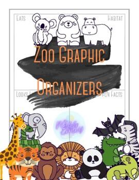 Zoo Animal Graphic Organizers
