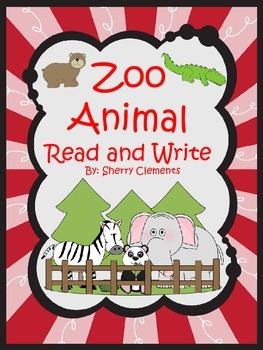 Zoo Animal Read and Write
