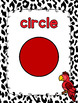 Zoo Animal Themed Shape Posters 2D and 3D