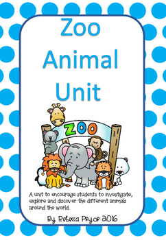 Zoo Animal Unit!