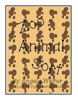 Zoo Animal Word Sort