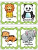 Zoo Animals, Posters, Write the Room Activities