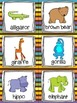 Zoo Animals Read, Write, and Count the Room {Literacy and