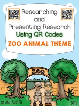 Zoo Animals: Researching and Presenting Research Using QR Codes