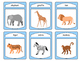 Zoo Animals Vocabulary Spoons ESL Card Game