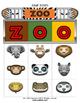 Zoo Bingo / Matching Activity Game + flashcards