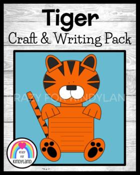 Zoo Craft And Writing: Tiger