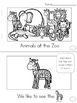 Zoo Emergent Readers