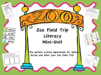 Zoo Field Trip Mini Literacy Unit