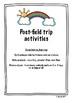 Zoo Field Trip Scavenger Hunts & Data Charts for K & 1