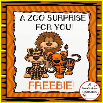 Zoo Poem/Song Wild Cats FREEBIE