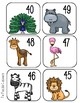 Zoo Sequencing Numbers to 100 --Build Number Sense!