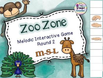 Zoo Zone - Round 2 (M-S-L)