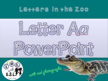 ZooPhonics PowerPoints Letters A, M, S, T Bundle