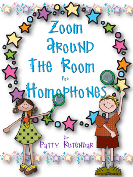 Homophones - Zoom Around the Room to Find Them