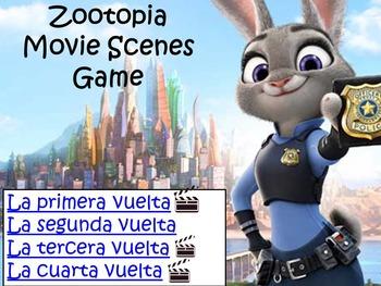 Zootopia Fun Spanish Movie Scenes Electronic Game