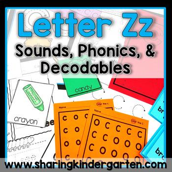 Letter Zz {Print & Play Pack}