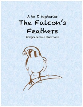 a to z mysteries: The Falcon's Feathers comprehension questions