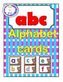 Beary abc alphabet cards