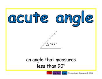 acute angle/angulo agudo geom 2-way blue/verde