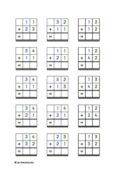 addition worksheet without regrouping