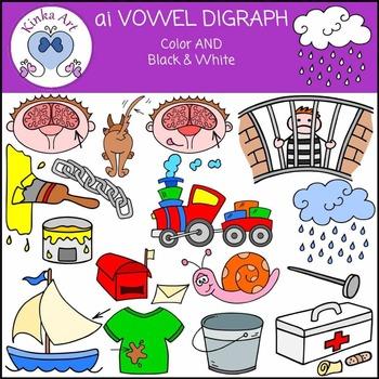 ai Vowel Digraph Clip Art
