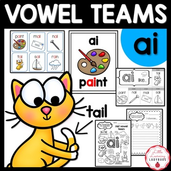 /ai/ Vowel Team Pack