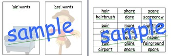 air are phonic sorting