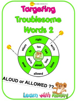 aloud/allowed  – UK English Targeting Troublesome Words Wo