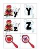 alphabet 3 part matching puzzle plus bonus: bubble bath theme