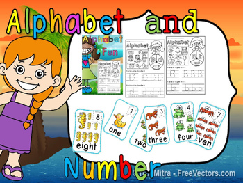 alphabet and number(50% off for 48 hours)