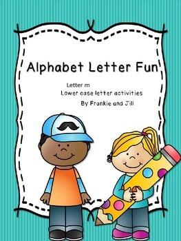 alphabet letter fun for the letter m     LITTLE PREP!!!