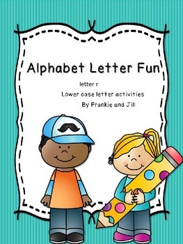 alphabet letter fun for the letter r    LITTLE PREP!!!