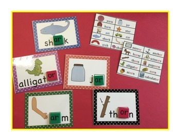Phonics ar and or