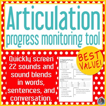 Articulation baseline and end progress monitor BUNDLE PACK