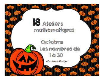 ateliers mathématiques octobre
