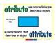 attribute/atributo geom 1-way blue/verde