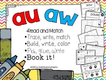 aw au - 5 Interactive phonics activities