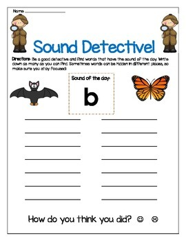 b sound Write The Room Worksheet