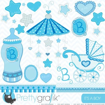 baby boy clipart commercial use, vector graphics, digital