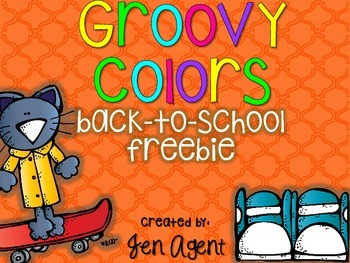 back to school FREEBIE {Groovy Colors}