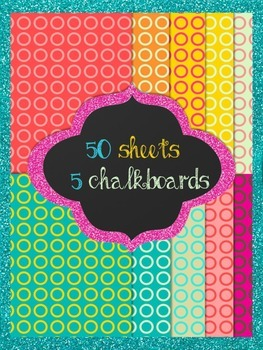 backgrounds and chalkboards