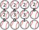 baseballs for calendar or counting