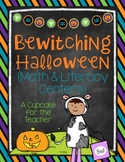 Bewitching Halloween {Math & Literacy centers}