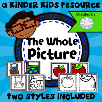 The Whole Picture Matching Game - KINDERGARTEN SKILLS 2