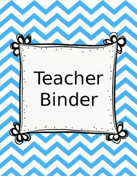 boho bird themed teacher binder