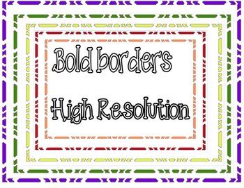 bold borders