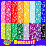 bubble digital paper printable
